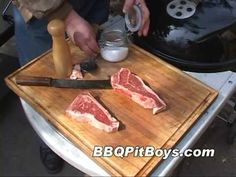 Grilled Steak and Onions Recipe | BBQ Pit Boys