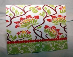 Whitney Owen Designs -- lotus style jacobean floral
