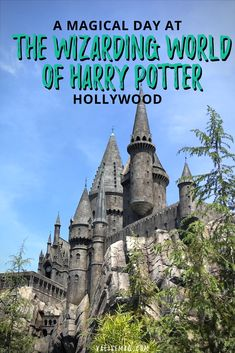 Planning a day at the Wizarding World of Harry Potter in Universal Studios Hollywood, California. via @valerievalise/