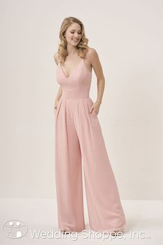 Jasmine Wide Leg P196053 Bridesmaid Dress Jumpsuit