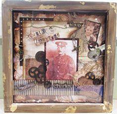 scrapbook frame | Kerry's Crafty Corner