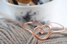 life & lisa: DIY Wire Bracelet/Arm Cuff