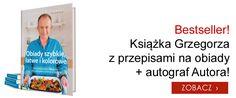 Książka Grzegorza z przepisami na obiady