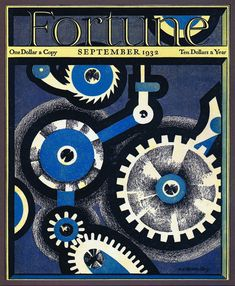Stunning Modernist Covers of Fortune Magazine Will Give You a Bad Case of Print Nostalgia Vintage Ads, Vintage Posters, Psychedelic Quotes, Vintage Illustration Art, Illustrations, Fortune Magazine, Graphic Art, Graphic Design, Print Design