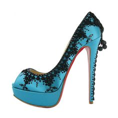 Louboutin's take on Cinderella? Oooh!