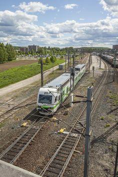 Riihimäen ratapihaa 2015. Kuva: Tapio Aulu