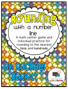 Classroom Freebies Too: Rounding with a Number Line