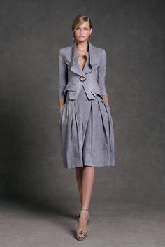 See the entire collection from the Donna Karan Resort 2013 runway show.