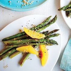 Asparagus with Sesame and Citrus Vinaigrette | MyRecipes.com