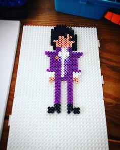 Prince (1958-2016) perler beads by cino_don