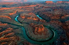 Picture of the Loop near the Green River in Canyonlands National Park, Utah