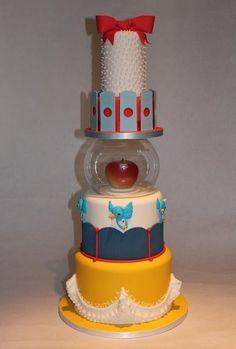 Snow White Inspired Cake