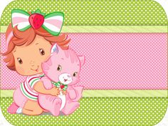 Kit para imprimir Moranguinho Baby