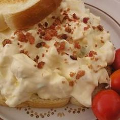 Awesome Egg Salad with a Kick (this is THE BEST egg salad recipe--with dijon mustard, horseradish and bacon)