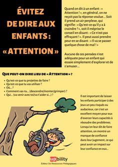 Education Positive, Child Teaching, Montessori Materials, Psychology, Communication, Positivity, Dire, Blog, Attention