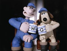 Anything Wallace and Gromit I will watch over and over. Good Animated Movies, Good Movies, Awesome Movies, Wallace And Gromit Characters, Clay Animation, Cornishware, Childhood Characters, Tv Adverts, Shaun The Sheep