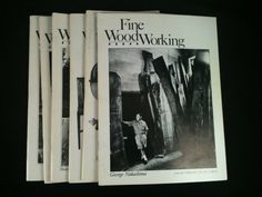 Vintage Fine WoodWorking Magazines Lot 6 1979 Back by RHWTreasures, $29.95