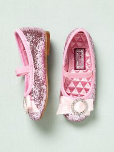 65ce0da41e3c I have to order these for baby Madison Bling-y ballet flats from L
