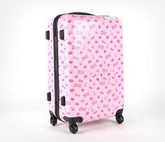 """Hello Kitty 24"""" Suitcase: Wallpaper"""