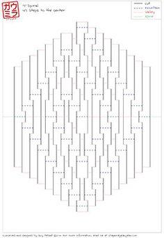 "DIY Template - ""9x9 Spiral"" kirigami paper sculpture"