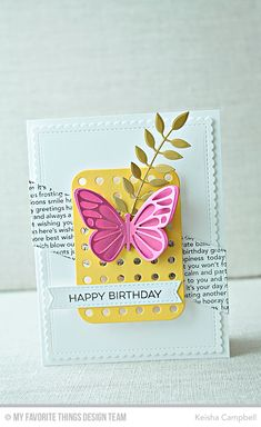 BEAUTIFUL DRESS IT UP FLUTTER BUGS EMBELLISHMENTS FOR CARDS//CRAFTS