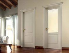 porta in legno massello art piuma porte classiche pinterest