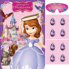 Sofia the First Party Game | 1 ct