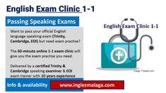 English Exam, English Language, Cambridge, Clinic, English People, English