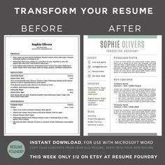 The Modern Resume Cool Resume Template Phoebe Griffiths  Modern Resume Template Modern .