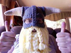Skyrim Inspired Viking Helmet With Detachable Beard