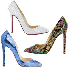 Christian Louboutin's Pigalle Pump Turns 10  #InStyle. Oh pigalle ... how I love you :)