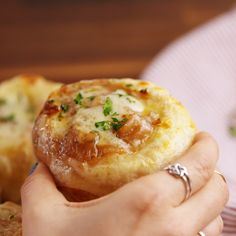 Mini bread bowls are SO CUTE. #food #easyrecipe #recipe #holiday #inspiration #Ideas #comfortfood #wishlist #home #hacks