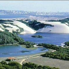 Lagoa de Jacuma / RN Rio Grande Do Norte, Places Around The World, Around The Worlds, Scenery Pictures, Brazil Travel, Journey, Tourist Places, Beach Trip, Amazing Nature