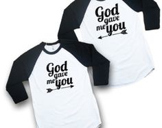 Couples T-Shirt God gave me you Triblend Christian