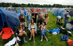 Cheers! Fans get into the groove at the Electric Picnic in Stradbally, Co Laois. Photograph: Dave Meehan