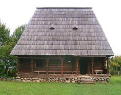 proiecte case maramuresene - Căutare Google Traditional House, Romania, Cabin, House Styles, Google, Foundation, Houses, Stone, Home Decor