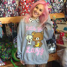 Product: Rilakkuma Lets Get Lazy Sweater