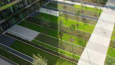 Objects and public spaces - Breimann&Bruun Landscape Plaza, Landscape Elements, Landscape Concept, Green Landscape, Contemporary Landscape, Landscape Architecture, Landscape Design, Modern Landscaping, Outdoor Landscaping