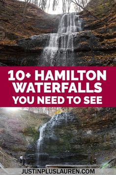 Hamilton, Ontario is the City of Waterfalls, and there are more than 100 to visit. Here are the 10+ best waterfalls in Hamilton to help your plan your trip. There are recommended waterfall itineraries in this complete and essential guide. Waterfalls in Hamilton Ontario | Hamilton waterfalls | Ontario waterfalls | Hamilton waterfall hikes | Hiking in Hamilton Ontario | Waterfall trails in Hamilton | Waterfall trails in Ontario | Waterfalls near Hamilton | Hamilton Falls South America Destinations, South America Travel, North America, Travel Destinations, Canada Travel, Usa Travel, Travel Guides, Travel Tips, Ontario Travel