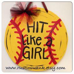 170 Best Softball Crafts Images Softball Crafts Softball