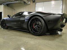 Cool black car
