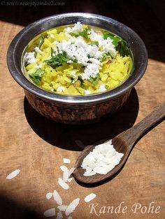 Kande pohe / Recepty z Indie