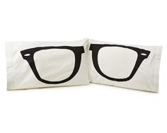 Look what I found at UncommonGoods: eyeglass pillowcase - set of Hipsters, Gifts For Teens, Gifts For Him, Dreams And Visions, Kids Pillows, Throw Pillows, Geek Chic, Eyeglasses, Sunglasses Case