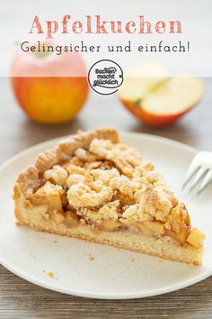 leckerer apfel streusel kuchen backen macht glucklich - The world's most private search engine Italian Cookie Recipes, Italian Cookies, Baking Recipes, Holiday Appetizers, Holiday Desserts, Holiday Recipes, Apple Crumble Cake, Apple Pie, Apple Streusel