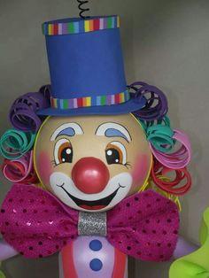 Eva Foam Sheet Crafts, Foam Crafts, Diy And Crafts, Circus Clown, Circus Theme, Fairy Clipart, Big Top Circus, Clown Party, Foam Sheets