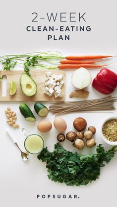 Here's our easy -to-follow 2-Week Clean-Eating Plan with recipes, shopping lists, and a printable daily rundown of what to eat and what to prep. You eat three meals a day plus a snack and a treat. And you can start the plan at any time.                                                                                                                                                     More
