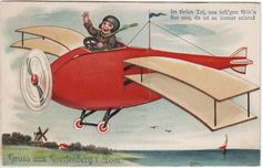 Leporello AK GREIFENBERG 1928 Flugzeug Post Mädchenpensionat Langbein ( 94739 | eBay