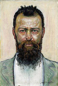 Ferdinand Hodler (1853-1918): Selbstbildnis, 1900, Staatsgalerie Stuttgart