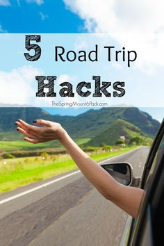 I love hacks. Anything to make life easier. Since we travel a lot, I have found several road trip hacks that just make road tripping easier. 5 Road Trip Hacks Road trip season happens every year and people all over the country are packing up their vehicles and heading out somewhere fun. Whether you're going...Read More »
