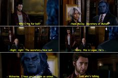 X-Men: The Last Stand is a 2006 American superhero film, based on the X-Men characters appearing in Marvel Comics. Marvel Funny, Marvel Memes, Marvel Dc Comics, Ms Marvel, Captain Marvel, Logan Wolverine, Men Quotes, Movie Quotes, Loki
